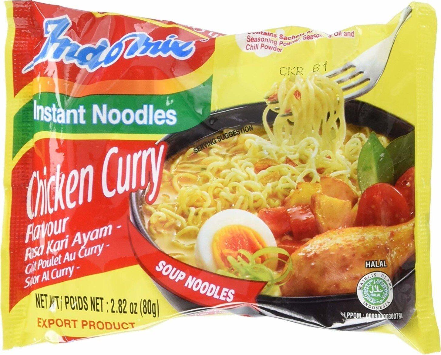 Mi goreng halal instant soup noodles - Product - en
