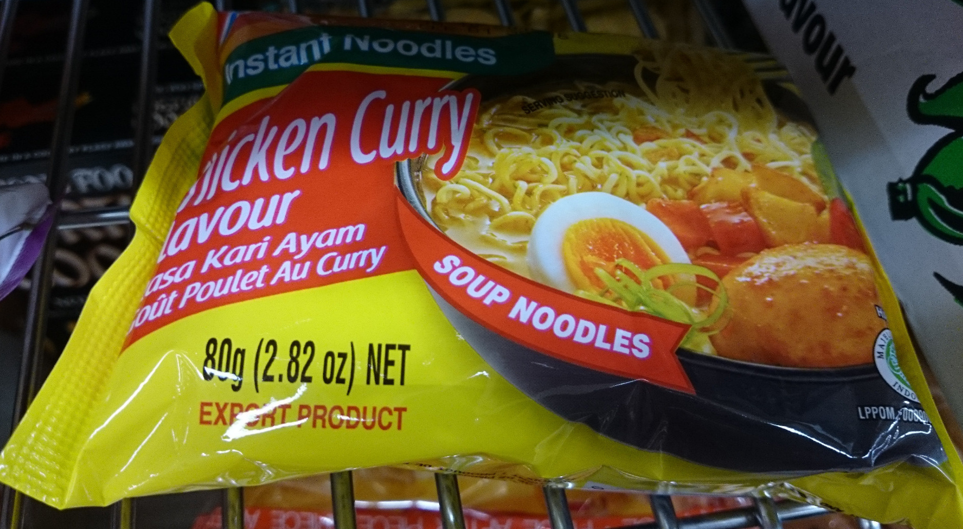 Instant Noodles Chicken Curry - Product - en