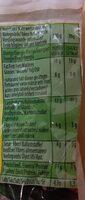 Indomie Chicken Noodles 4+1 - Informations nutritionnelles