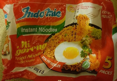 IndoMie Mi Goreng Instant Noodles 5 Pack - Product - en