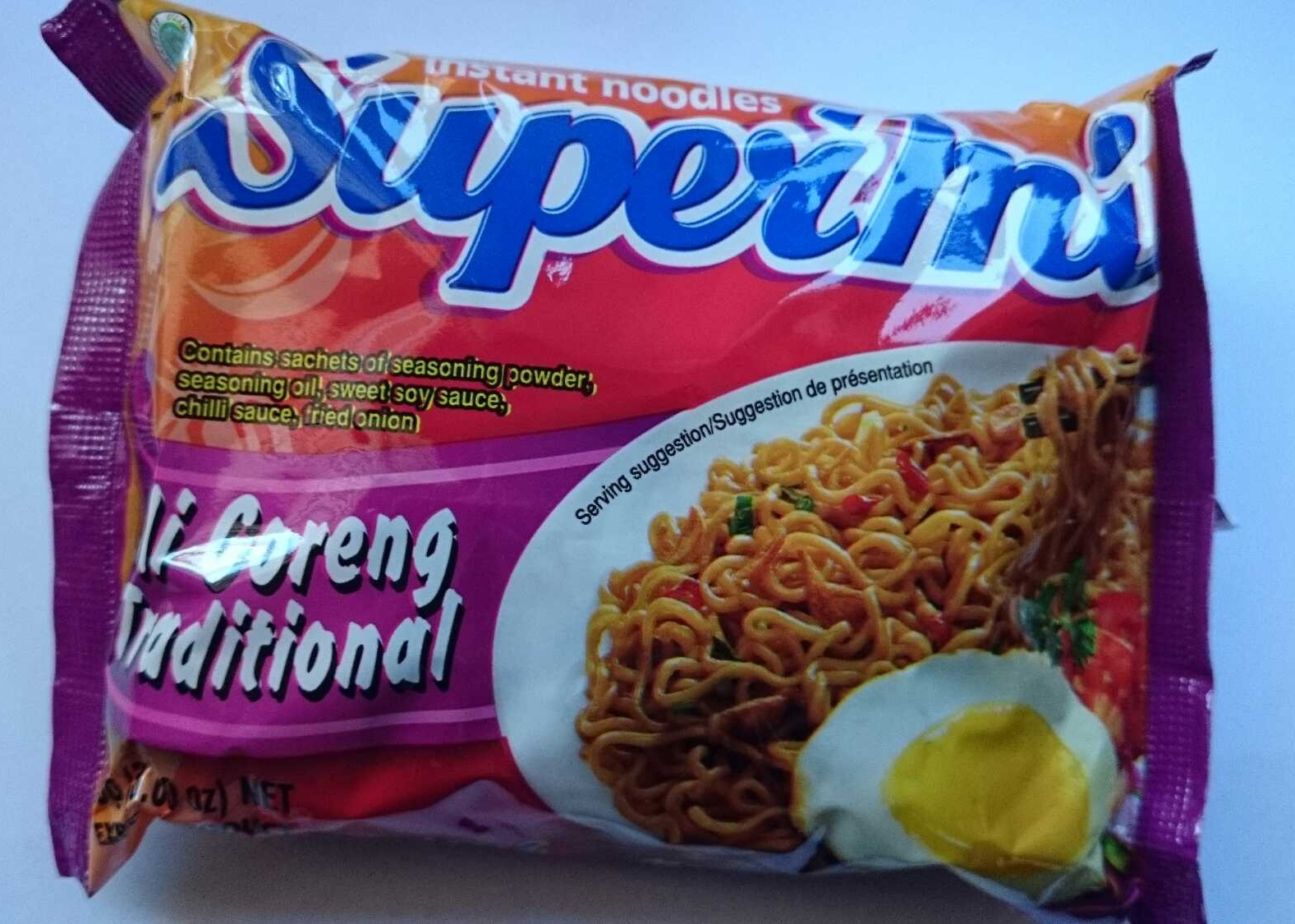 Supermi Mi goreng Traditional Instant Noodles - Product - en