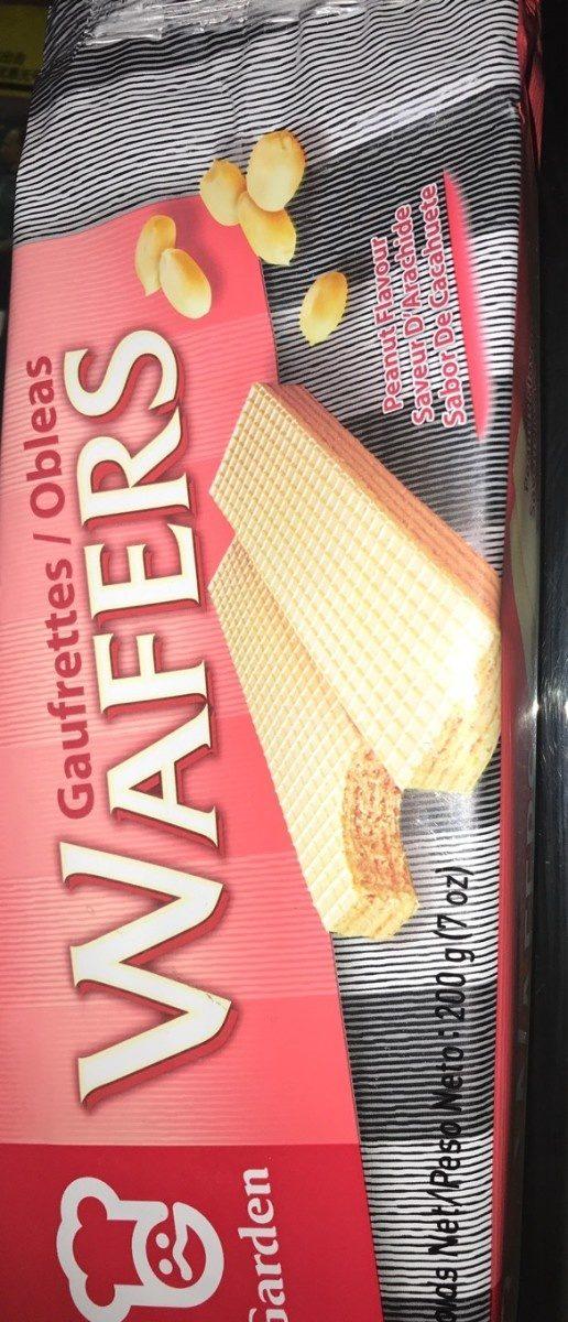 Garden Wafers Peanut flavor - Product