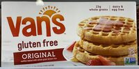 Van's, gluten free waffles, original - Produit - en