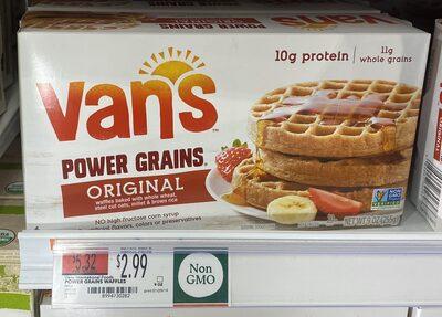 Power Grains Waffles - Product - en