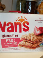 Pb&J Sandwich Bars, Strawberry And Peanut Butter - Product