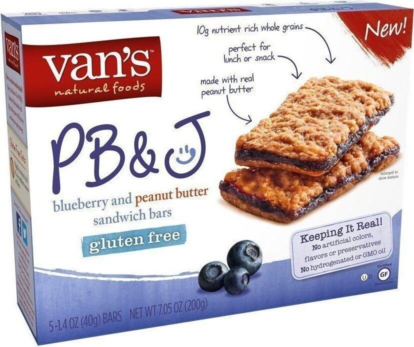 Vans sandwhich bar pb&j bluebr - Product - en