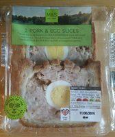 2 Pork & Egg Slices - Product