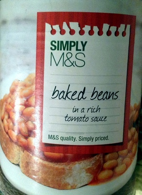 Baked Beans in a rich tomato sauce - Product