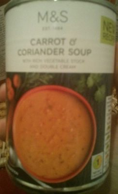 Carrot Coriander Soup - Product