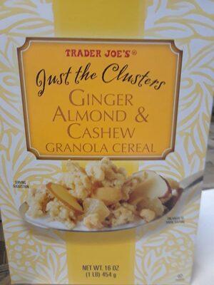 Ginger almond cashew granola - Product