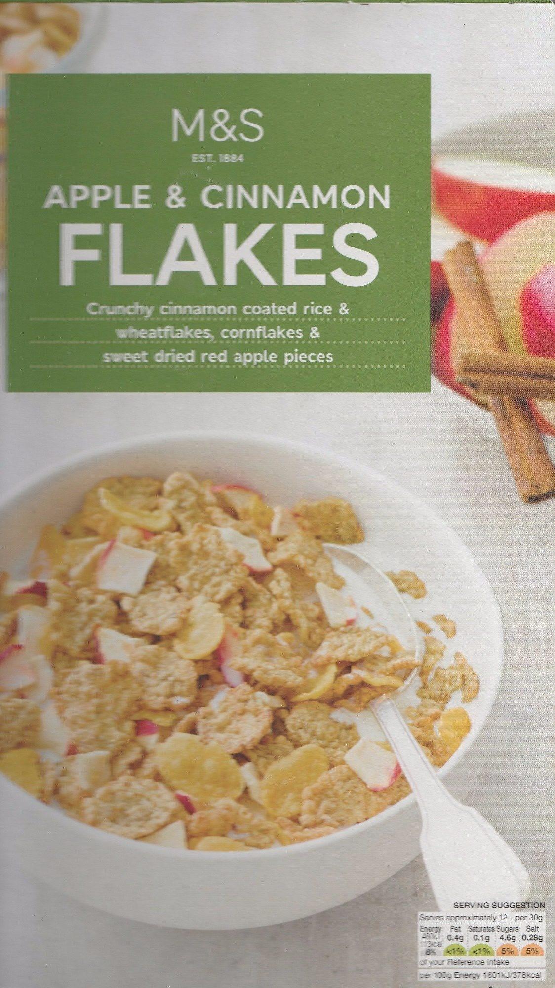 Apple & Cinnamon Flakes - Product - fr