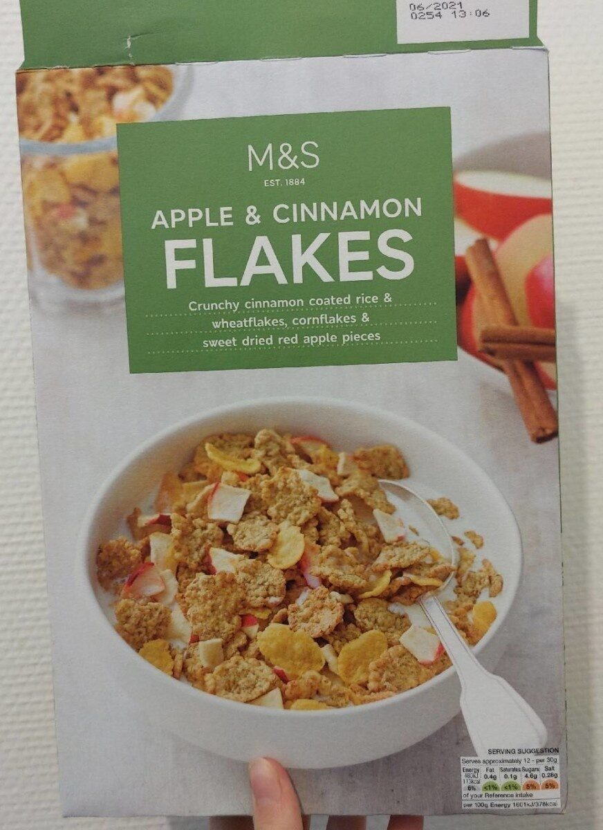 Apple and cinnamon flakes - Product - fr