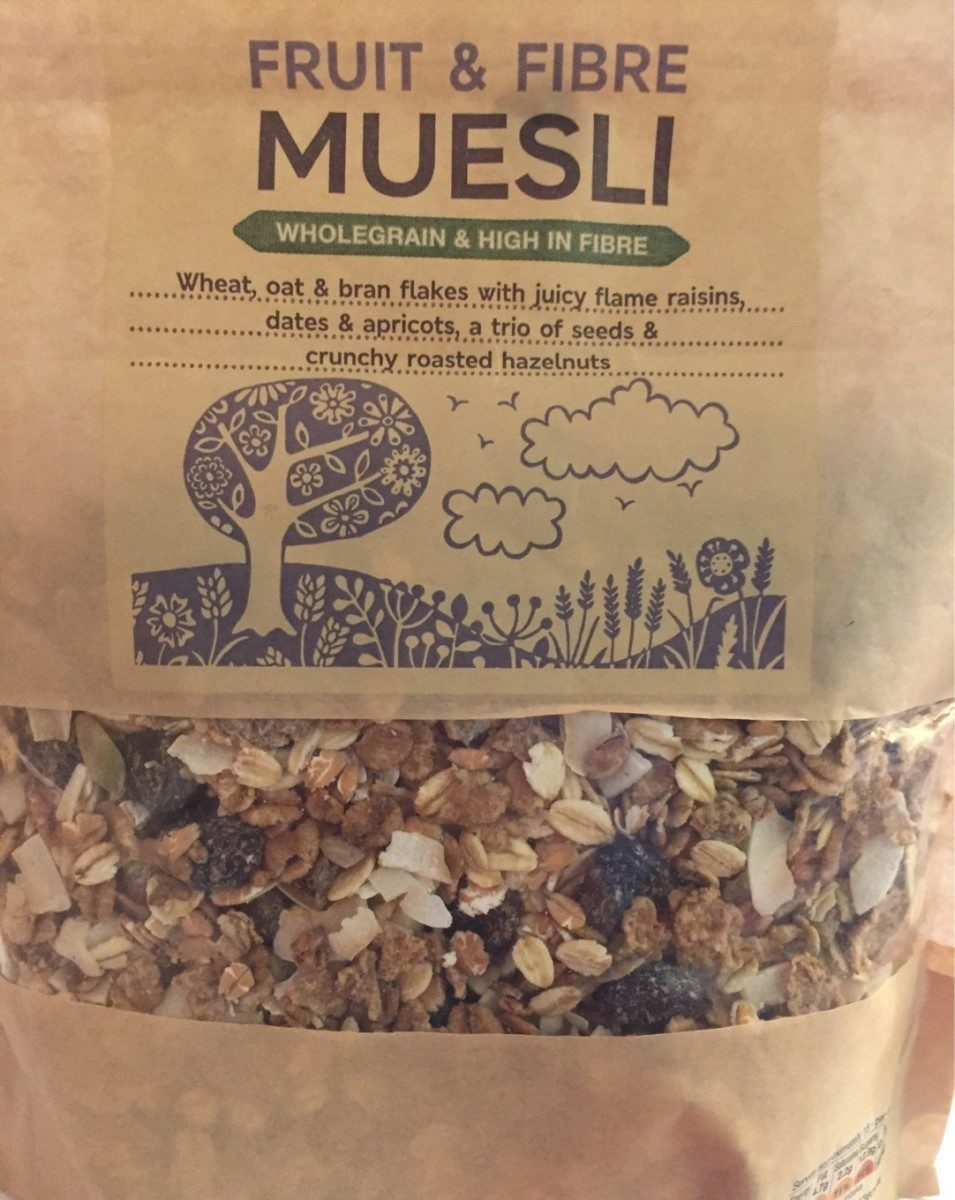 Fruit and Fibre Muesli - Product