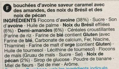 Céréales Crunch Aux Amandes - Ingrediënten - fr
