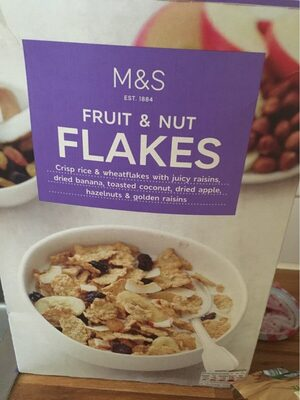 Fruit and nut flakes - Product