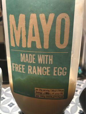 Mayo Made with Free Range Egg - Product