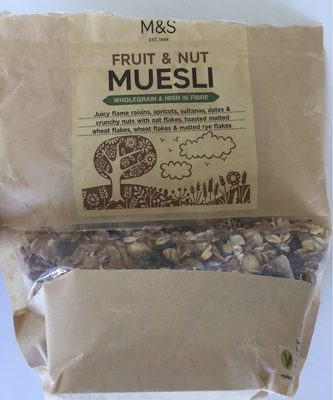 Fruit & Nut Muesli - Product - fr