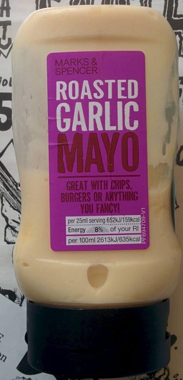 Roasted Garlic Mayo - Produit