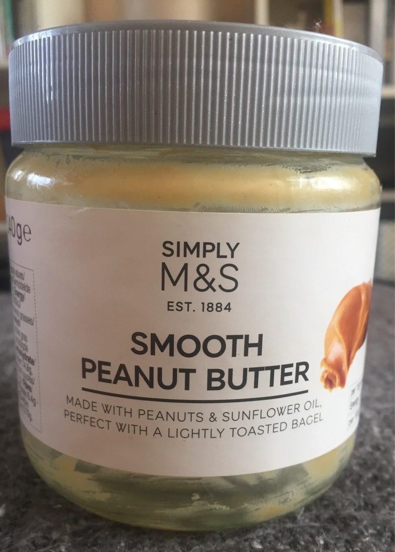 Smooth peanut butter, beurre de cacahuète - Product
