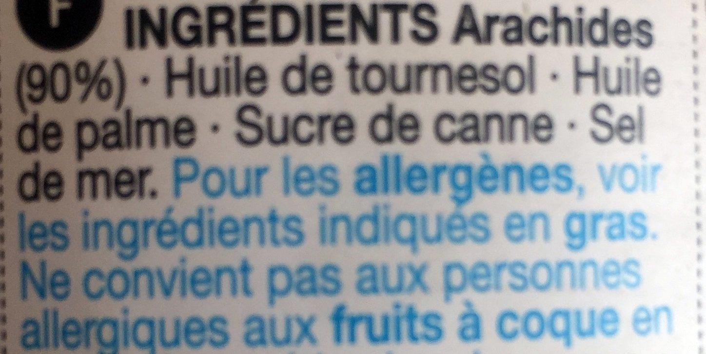 Smooth peanut butter, beurre de cacahuète - Ingredients