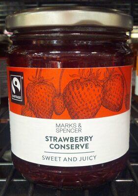 Strawberry conserve - Produit