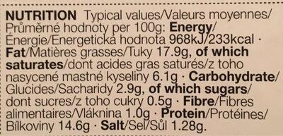 8 Lamb roasted garlic rosemary chipo sausage - Informação nutricional - en