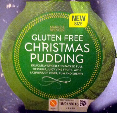 Gluten Free Christmas Pudding - Product - en
