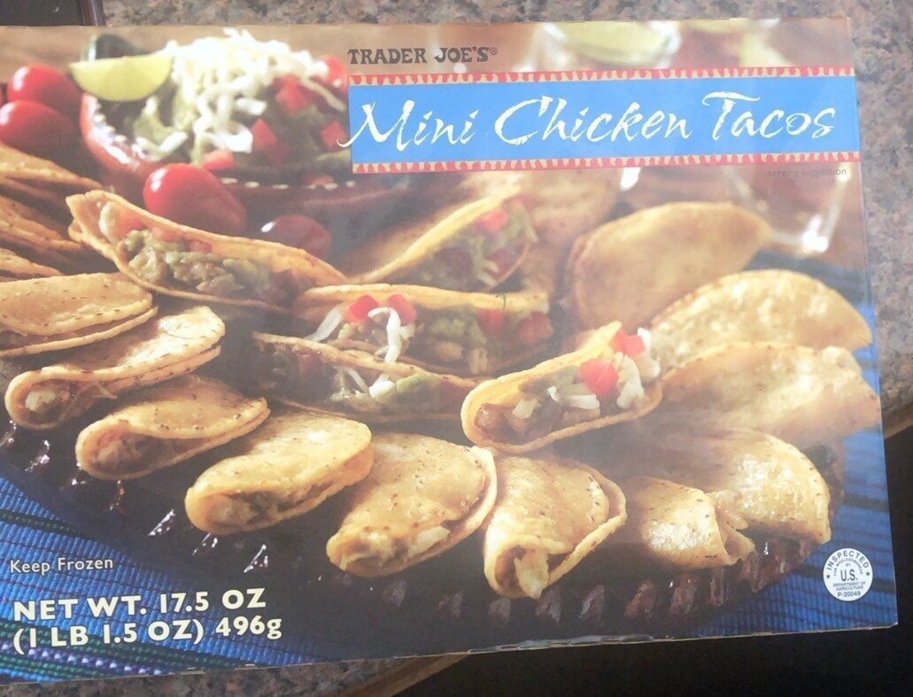 Mini chicken tacos - Product - en