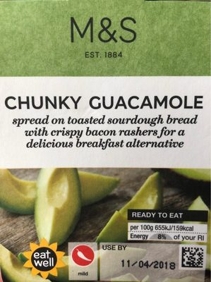 Chunky Guacamole - Product