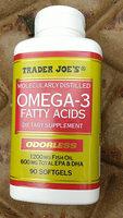 Molecularly distilled Omega - 3 fatty acids - Product