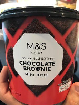Chocolate Brownie Mini Bites - Product