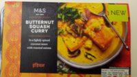 Butternut squash curry - Produit - fr