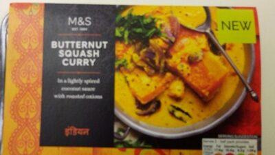 Butternut squash curry - Produit