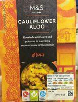 Cauliflower aloo - Produit - fr
