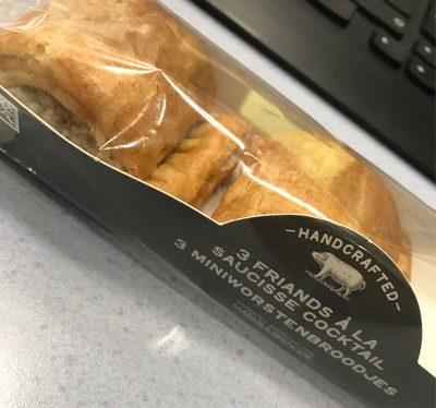 3 Friands à la Saucisse - Product - fr