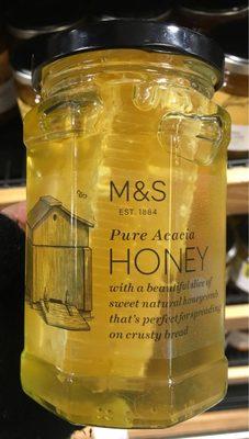 Acacia Honeycomb in Acacia Honey - Product