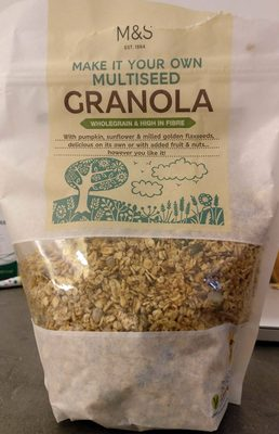 Granola (whole grain & high in fibre) - Product - fr