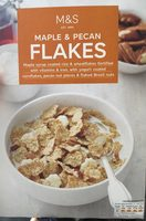M&S Maple and Pecan flakes - Product