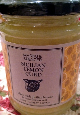 Sicilian Lemon Curd - Product