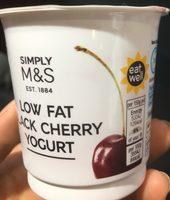 Low Fat Black Cherry Yogurt - Product