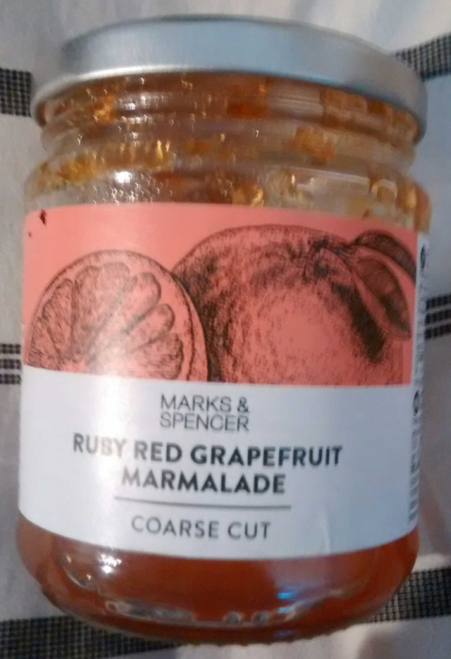 Ruby red grapefruit marmalade - Product