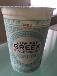 Low fat Greek style yogurt - Product - en