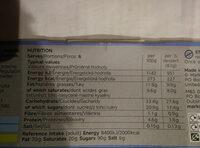 Tiramisu - Nutrition facts