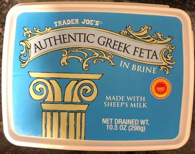 Authentic Greek Feta - Product - fr