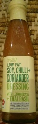 Low Fat Soy, Chilli + Coriander Dressing with Lemongrass + Thai Basil - Product
