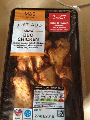BBQ Chicken - Product