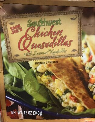 Southwest chicken quesadillas - Product - en