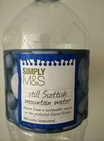 Still Scottish Mountain Water - Product