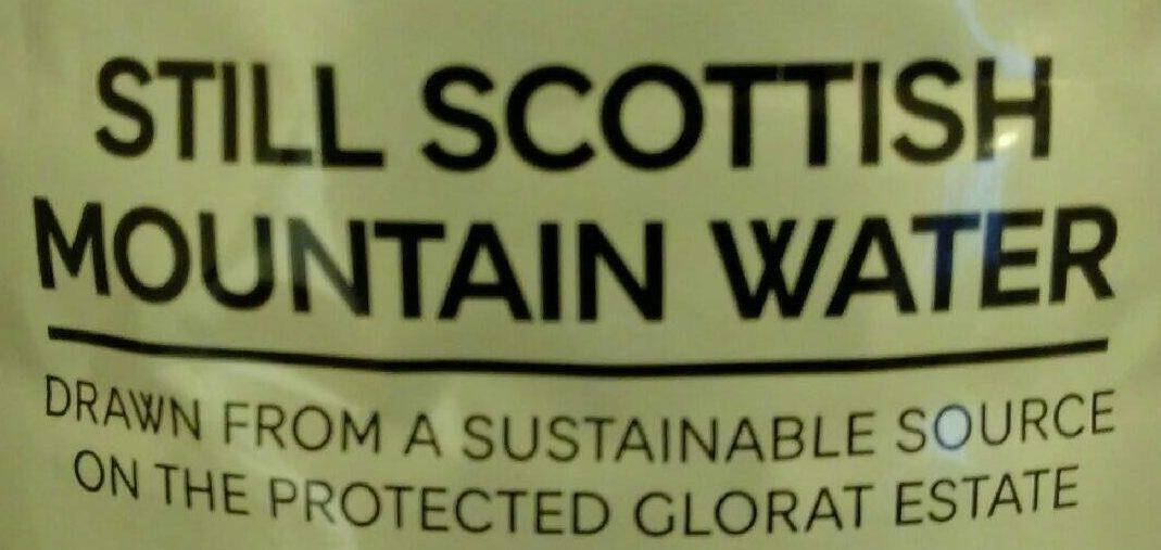 Still Scottish Mountain Water - Ingrédients