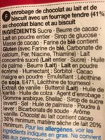 Milk chocolate cookie dough bites - Ingrédients
